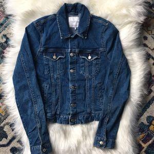 Zara Trafaluc Denim Makers Jean Jacket Medium